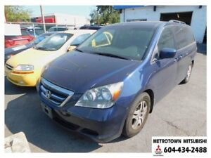 2005 Honda Odyssey EX-L; Local BC vehicle! 1 owner since new!