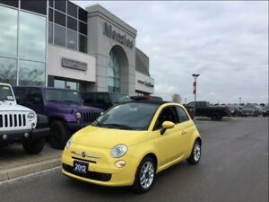 2012 Fiat 500 Pop, Alloys, Air, Tint, Clean Carproof