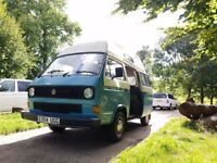 VW T25 Camper 1985 Low Mileage