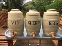 3 Moira Storage Jars