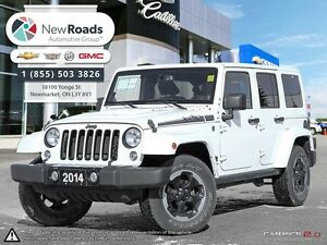 2014 Jeep Wrangler Unlimited Sahara Unlimited Sahara, ONE OWN...