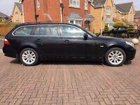 2005 BMW 525D 2.5 SE TOURING MANUAL BLACK BARGAIN PRICE