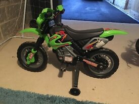 Ride-On Motorbike - immaculate condition