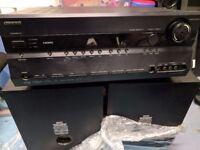 ONKYO TX-SR605 7.1 Channel Receiver Surround Sound. HD. DTS-HD Master Audio Cinema Hifi Amplifier