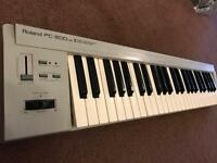 MIDI controller keyboard Roland pc - 200 mark 2