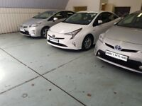 PCO CAR HIRE WITH INSURANCE TOYOTA PRIUS LOW DEPOSIT UBER READY PRIUS PCO CAR RENTAL 7 SEATER PCO