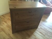 IKEA 2 drawer (+ hidden drawer) Chest of draws