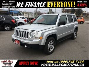 2013 Jeep Patriot NORTH EDITION 2.4 L ECONOMICAL