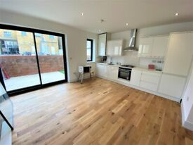 New Built immaculate One bedroom ground Floor flat with Front Terrace in Upton Park --No DSS please