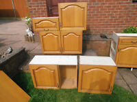 kitchen units with high quality doors. suitable for garage
