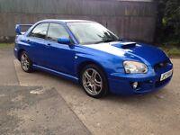 2005 Subaru Impreza Wrx *Metallic Blue*Service History*Reversing Caamera