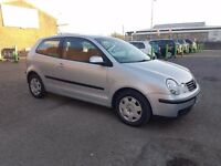 2002 POLO 1.2 PETROL ***NEW MOT ( NO ADVISORY )**LOW INSURANCE** BARGAIN***