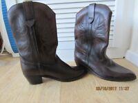 Mens Cowboy Boots Size 11