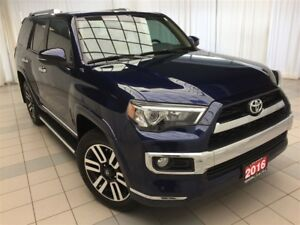 2016 Toyota 4Runner LTD w/ Leather, Navigation & Moonroof