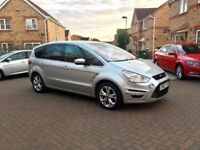 2013 FORD SMAX TITANIUM 2.0 DIESEL AUTOMATIC, FULL HISTORY, FULL MOT, CRUISE, HPI CLEAR