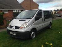 2007 Vauxhall vivaro minibus 8 seater £2700