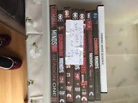 Various box set dvds