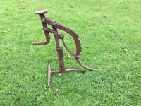 Old cart jack