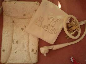 Mamas & Papas 'Millie & Boris'nursery baby bedroom bundle