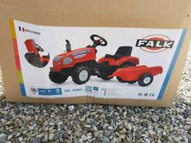 Falk 720i Kids tractor and trailer *brand new*