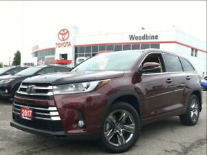 2017 Toyota Highlander Limited AWD w/ Navi, Backup Cam, Moonroof