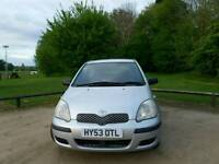 TODAY YARIS 1.0L 2003 WARRANTED MILES HPI CLEAR EXCELLENT CONDITION