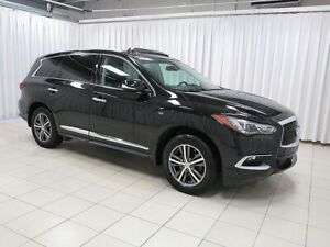 2016 Infiniti QX60 7 PASSENGER WITH LEATHER, ALLOYS, SUNROOF AND