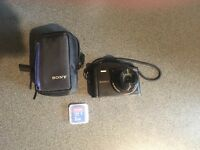 FOR SALE: SONY DSC-WX350 + Sony Case & 2GB SanDisk SD Card