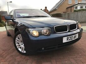 *NEW MODEL*BMW 7 SERIES 4.4 745i AUTO(330BHP)*SAME OWNER FOR THE PAST 10 YEARS*VERY SMOOTH RIDE*