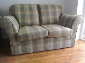 2 seater Beautiful Marks and spencer Evie fixed sofa. Only 3 years old. VGC