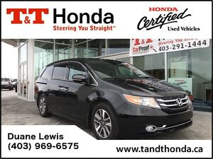 2015 Honda Odyssey Touring *Leather, Local Trade, Heated Seats