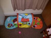 Baby Tunnel Play Mat