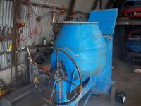 Belle Full Bag Cement Mixer Electric Start Brand New Battery also One Belle Mixer without Engine