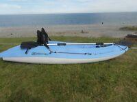bic ouassou sit on kayak