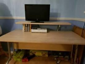 A large desk