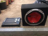 Sony xplod 12000w sub 1000w fusion amp