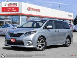 2015 Toyota Sienna SE 8 Passenger One Owner, No Accidents, To...