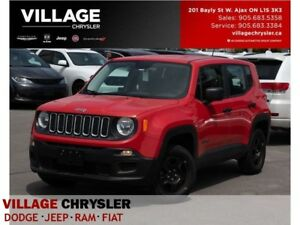 2016 Jeep Renegade Sport|4x4|Sound Grp|Backup Cam|Pwr Air Grp