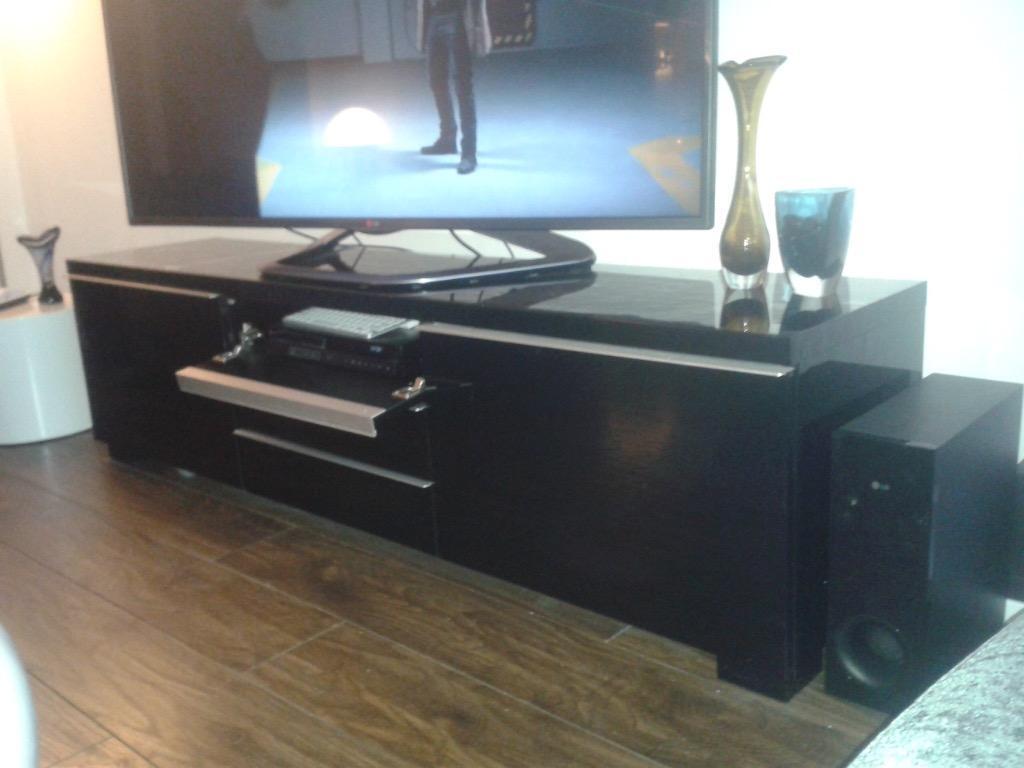 Ikea High Gloss tv Unit Ikea Black Gloss tv Unit