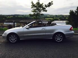2004 Mercedes Clk200 1.8 Petrol Automatic Convertable 3 Door Power Hood Ready To Go PX Welcome