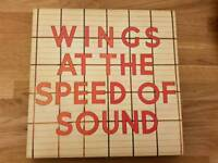 Vinyl - Wings at the speed of sound