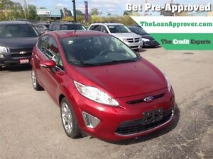 2013 Ford Fiesta Titanium   LEATHER   ROOF   HTD SEATS