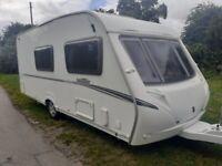 abbey vogue 520 lightweight 4 berth caravan 2007/08 ( WOW! )
