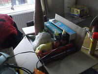 HUGE BUNDLE OF ITEMS FOR CARBOOT SALE - NEW AND USED