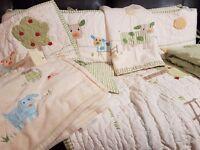 Pottery Barns Kids 12pcs Nursery/Crib Bedding