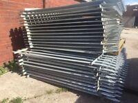 Palasade security fencing panels 2.4 X 2.7m (heras compound fencing)