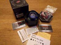 GW-9400 navy blue Casio G-Shock RANGEMAN Triple Sensor Tough Solar 200M Resin Band Master of G