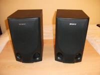 Sony 2-Way Bookshelf Speakers 70w