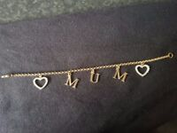 Gold plated braclet - never worn