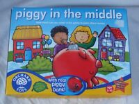 Piggy In the Middle game from ORCHARD TOYS